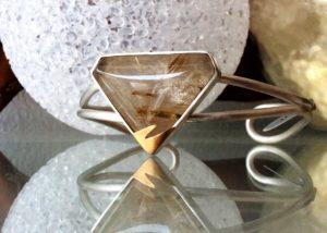 Silver Quartz Bracelet